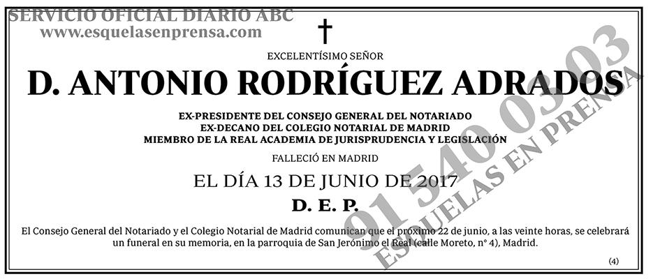 Antonio Rodríguez Adrados